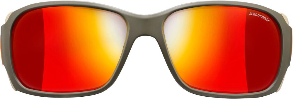 Julbo Montebianco Spectron 3CF Sunglasses Army/Camel/Orange-Red 2018 Gletscherbrillen UHLs6nz